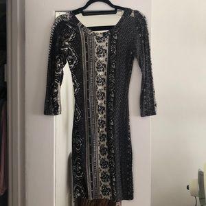 Novella Royale print dress
